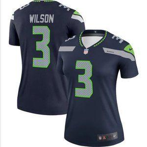 Women's Russell Wilson Seattle Seahawks Jersey